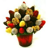 Strawberries and Dates Bouquet
