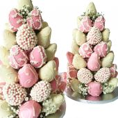 Pink Strawberry Tower