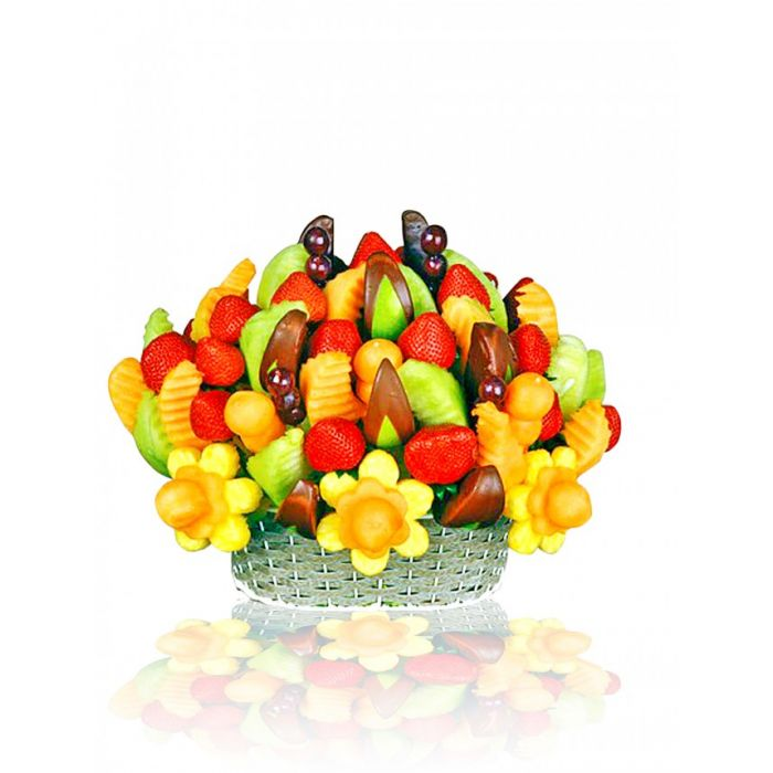 Fruitful Passion - Assortment of Fruits & Chocolate