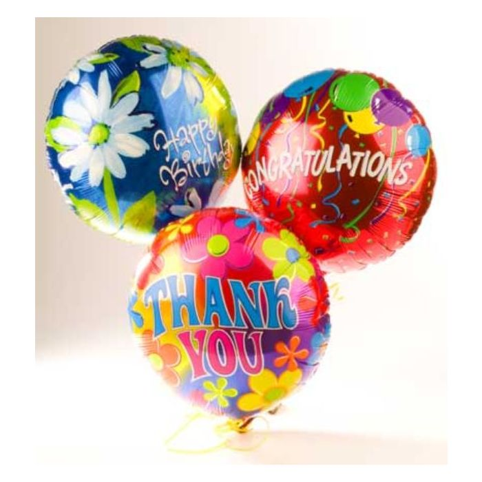 Birthday Balloons, Get Well Soon Balloons & Congratulations balloons delivery